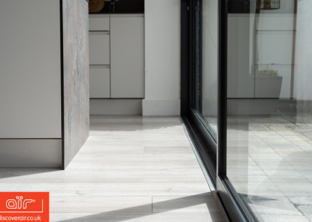 Close-up-of-air-lift-and-slide-doors-in-Ealing