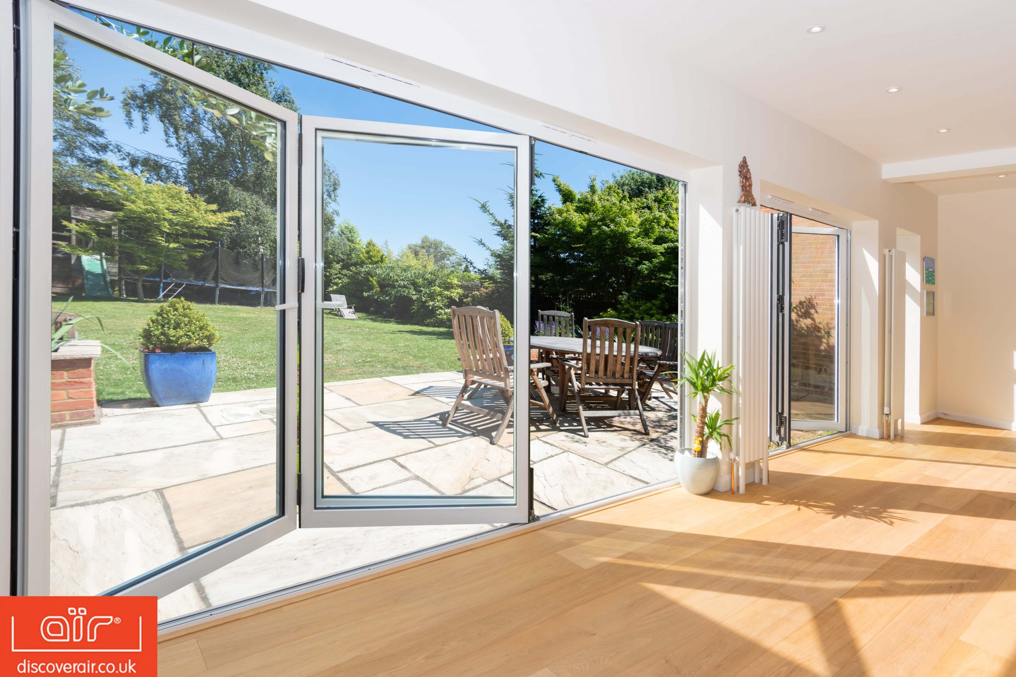 Reasons to choose bifold doors - discover air