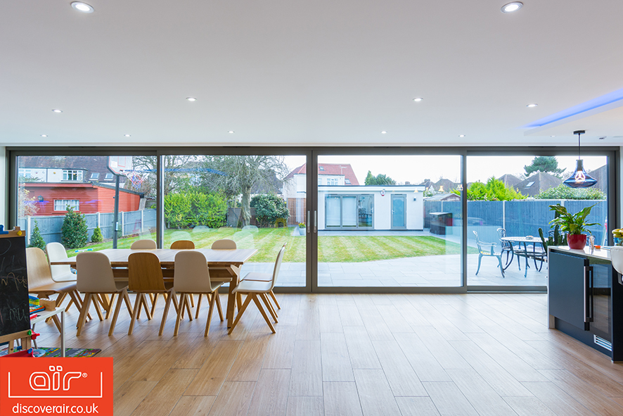 space saving lift and slide doors - Discover air