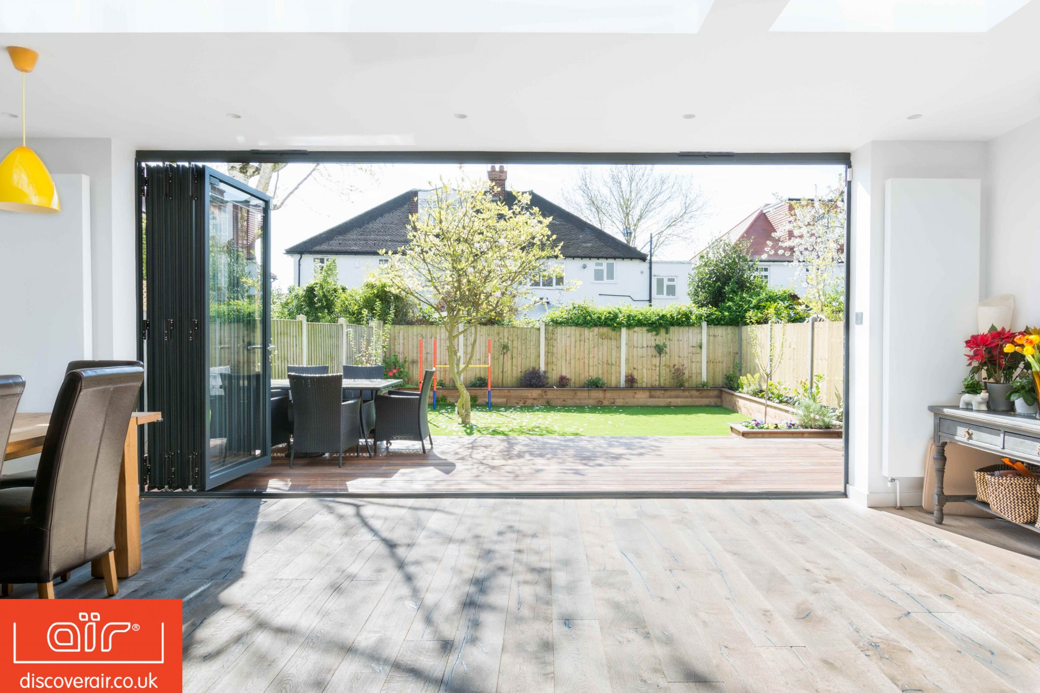 bifold doors from discover air