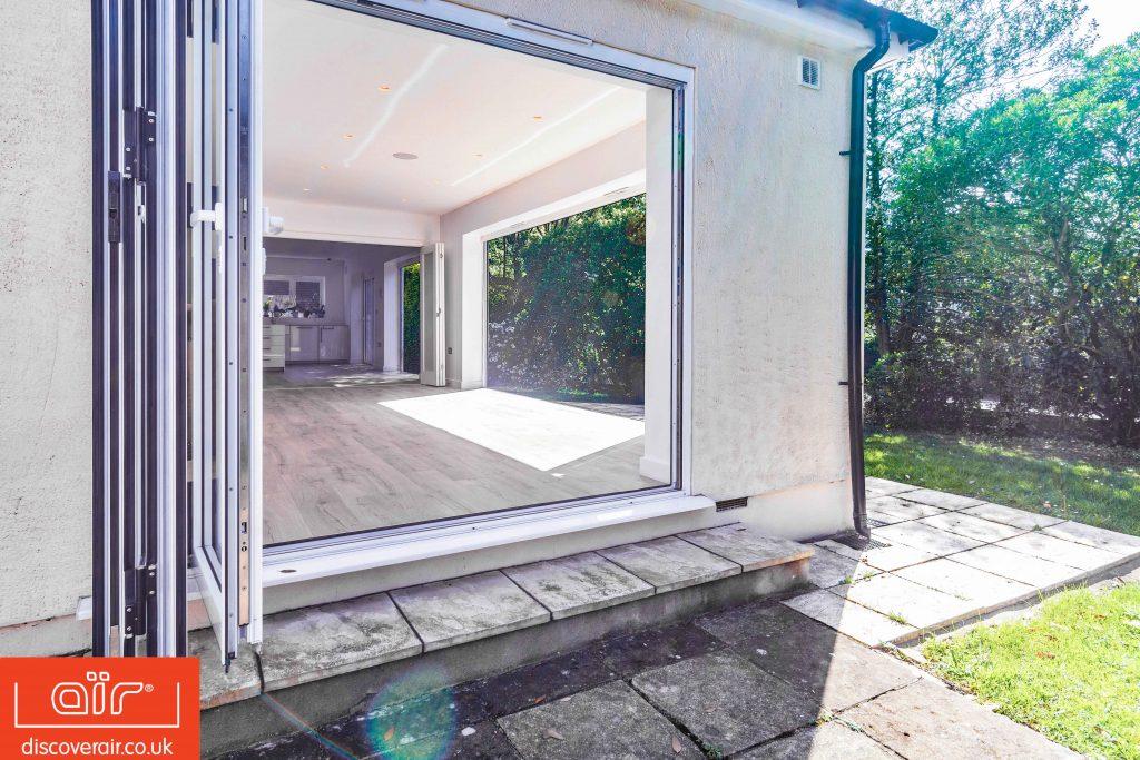 Benefits of bifold doors for homes in Ealing